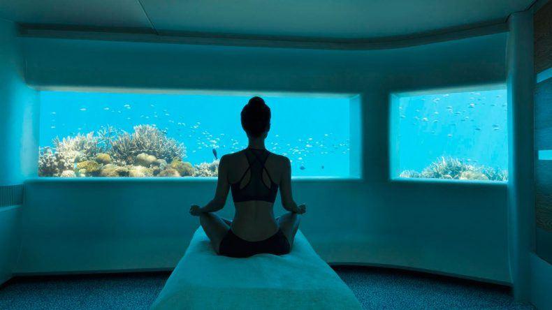 Unterwasserhotel Malediven: LIME Spa