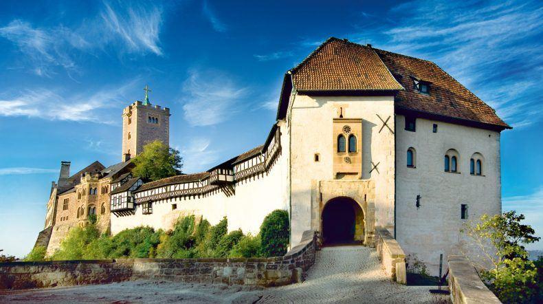 So wunderschön! UNESCO Weltkulturerbe Wartburg (Copyright: Anna-Lena Thamm)
