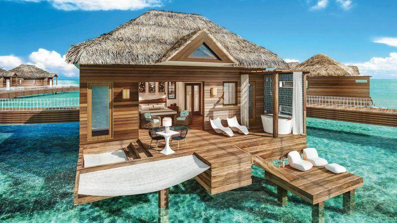 Hängematte, Whirlpool, direkter Meerzugang - Ein Luxustraum