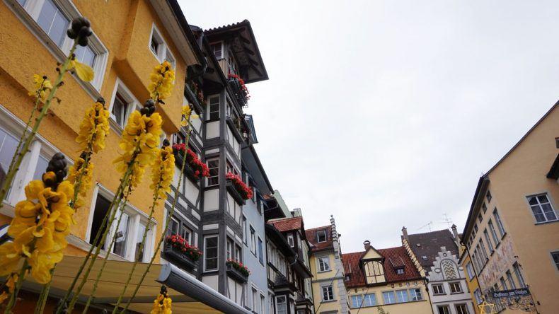 Die ALtstadt von Lindau.