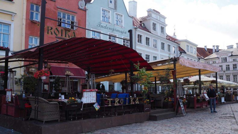 Marktplatz in Tallinn