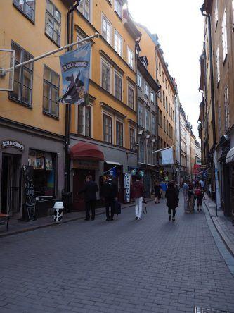 Die Altstadt von Stockholm