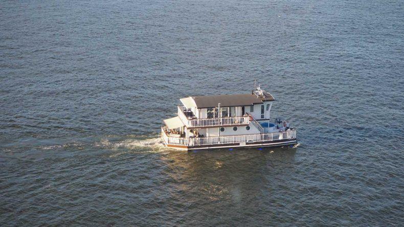 Originelles Hausboot