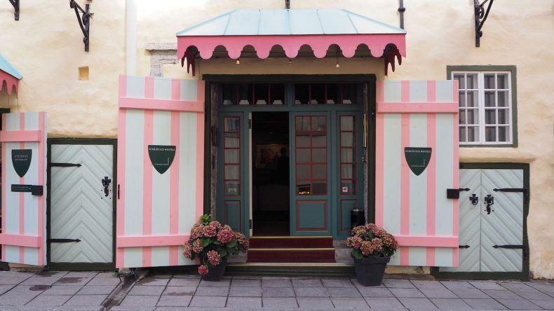 Süße Häuser in Tallinn
