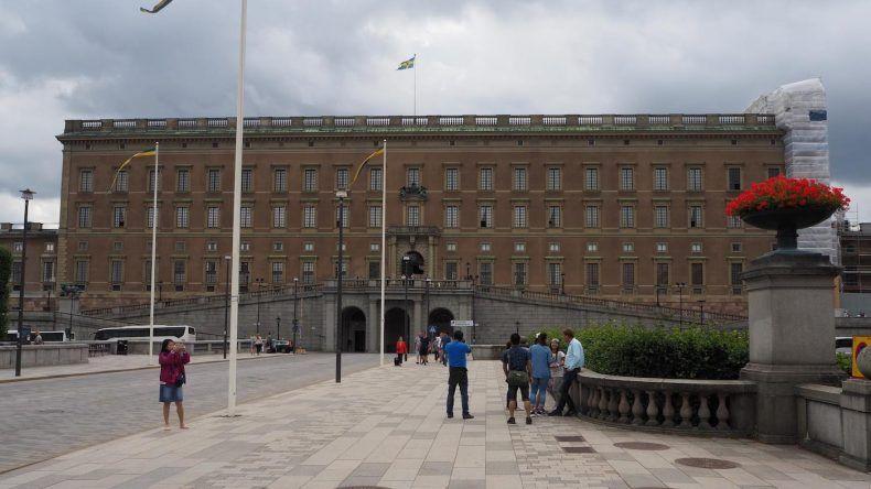 Der Palast in Stockholm