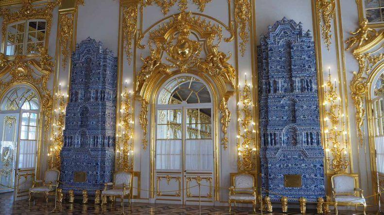 Gold im Katharinenpalast