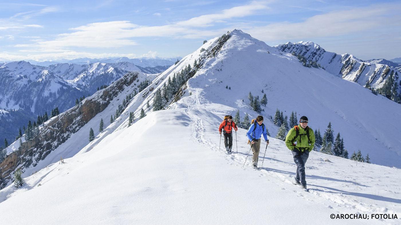 Traumhaft: Wandern im Winter