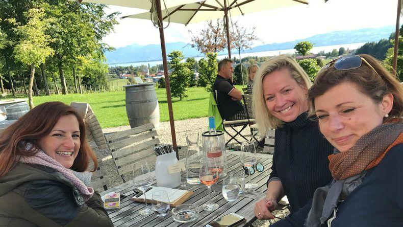 Fruendinnen-Treffen in Lindau
