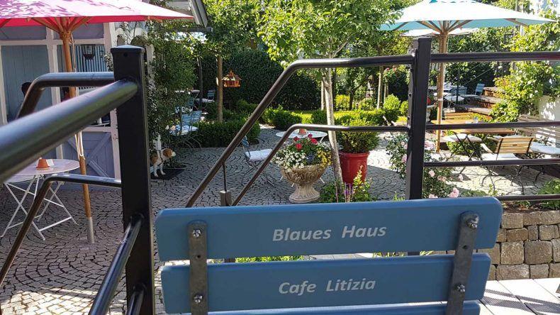 Eine Belohnung für Naschkatzen gibt es in Oberstaufen im Café Litizia im Blauen Haus.