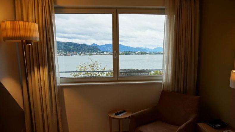 Ausblick vom Zimmer im SENTIDO Seehotel am Kaaiserstrand