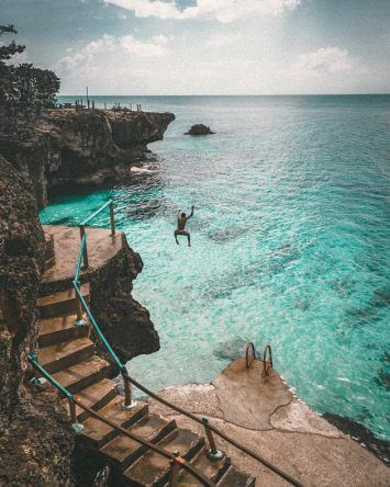 Für Mutige: On the Cliffs (Copyright: Marisa Hampe)