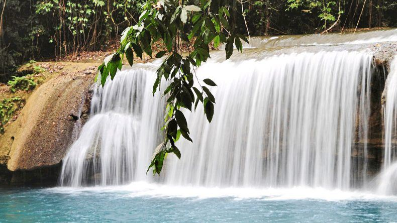 YS Falls (Urheberrecht: Jamaica Tourist Board)