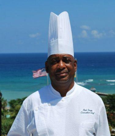 Chefkoch des Royalton Negril & Spa: Ansel Beason