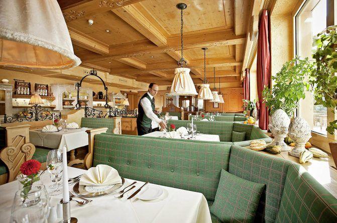 Restaurant im Arabella Alpenhotel