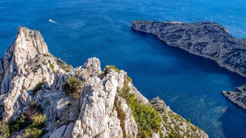 Frankreich Strand: Calanques Marseille