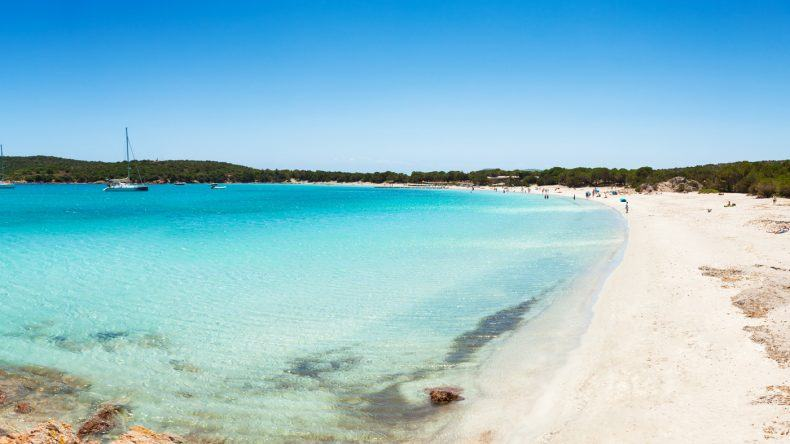Frankreich Strand: Rondinara Beach