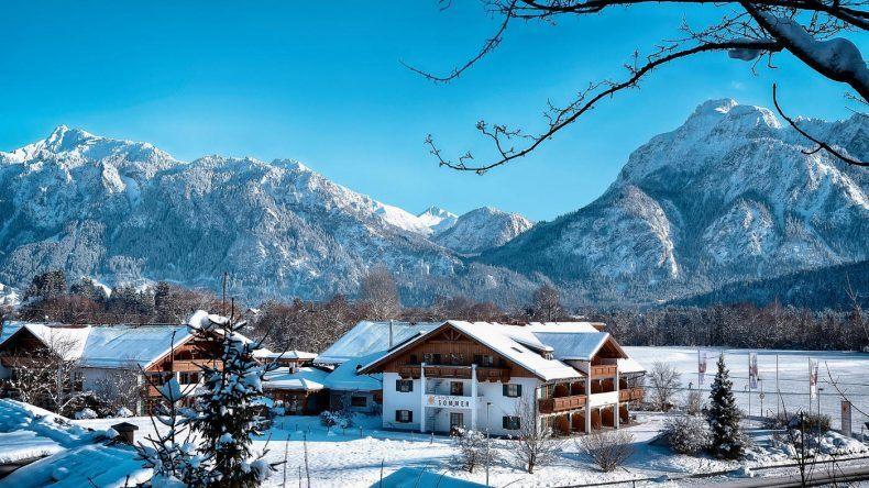 Das Hotel Sommer im Winter erleben