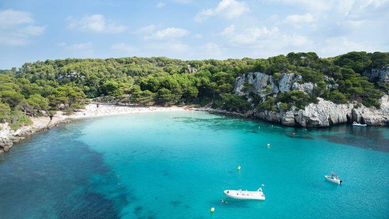 Planschen auf Menorca. Genau das Richtige für Kids