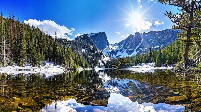 Weihnachten in den Rocky Mountains