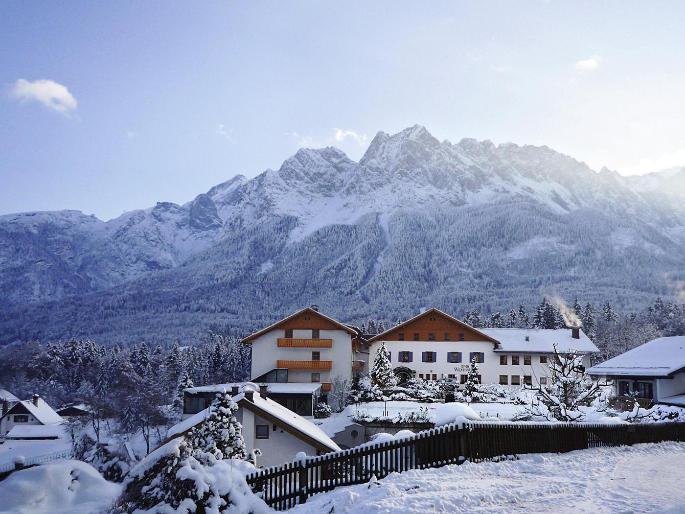 Romantisch oder? Das Romantik Alpenhotel Waxenstein
