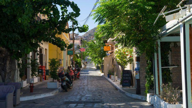 Die Straßen von Pythagório