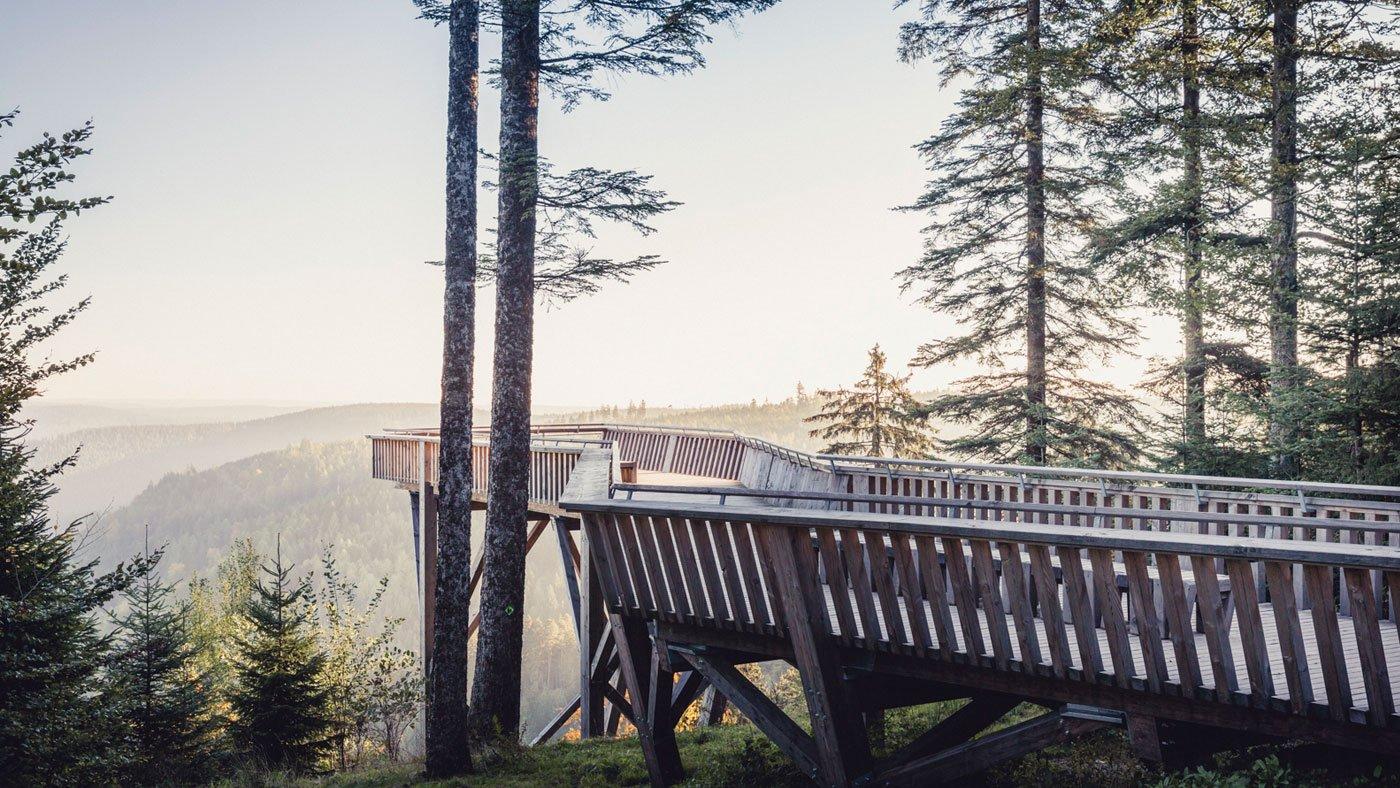 Es gibt viele Aussichtspunkte, die einen Blick über die herrliche Landschaft bieten