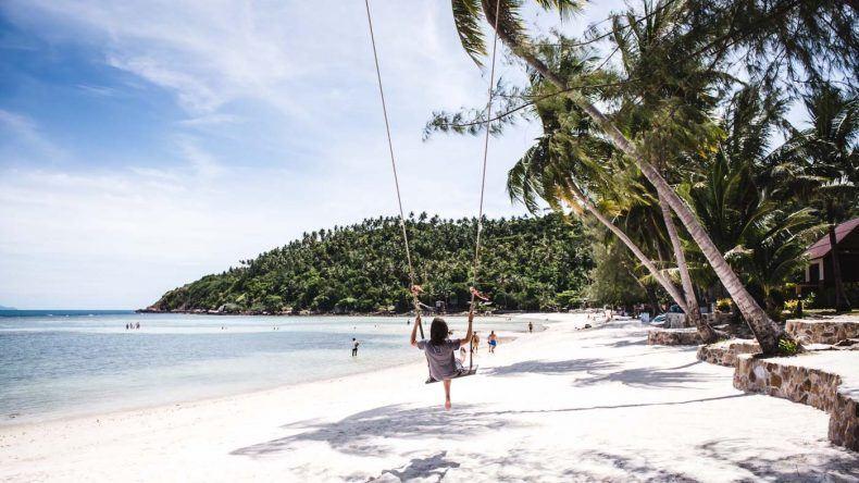 Schaukeln unter Palmen – in Thailand ist es möglich!