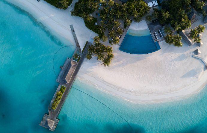 Diese Farben! Dieser Strand! Hier ist nichts gephotoshopt. Das Velassaru Maldives