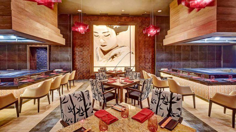 Teppanyaki werden euch im Restaurant Zen serviert