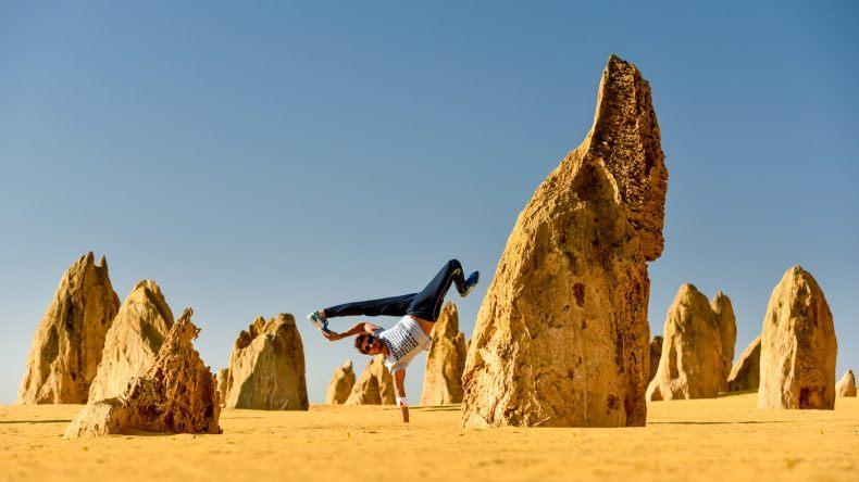 Lerne cooles Moves mit Flying Steps