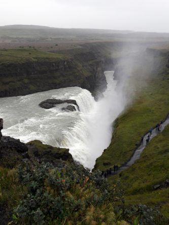 """Gulfoss – der """"goldene"""" Wasserfall"""