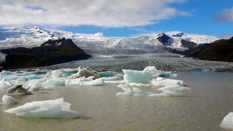 Wunderschön: Die Gletscherlagune Jökulsárlon