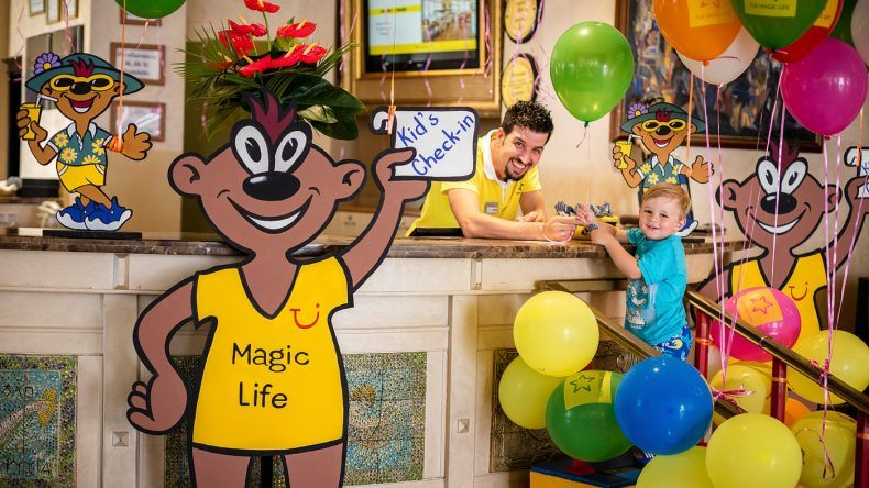 Den Kids Check-In für die 0 bis 12-Jährigen gibt es in allen TUI MAGIC LIFE Highlight Clubs