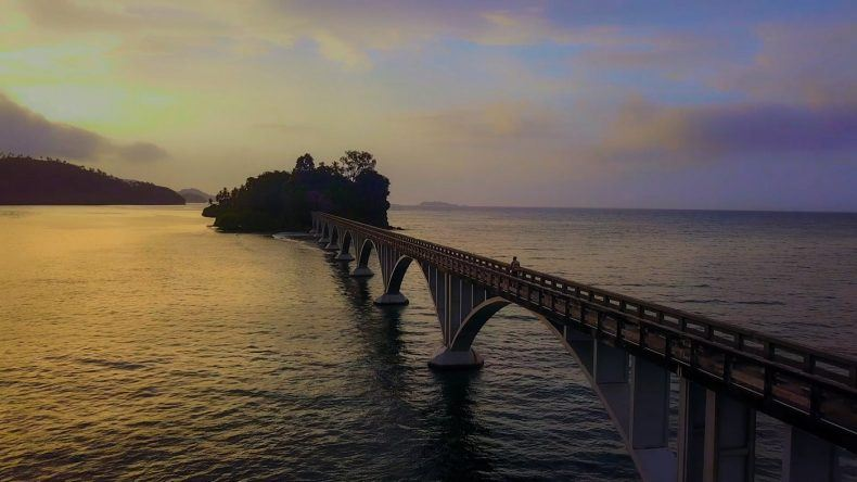 Geh raus, zieh los! (Brücke in Samana Bay)