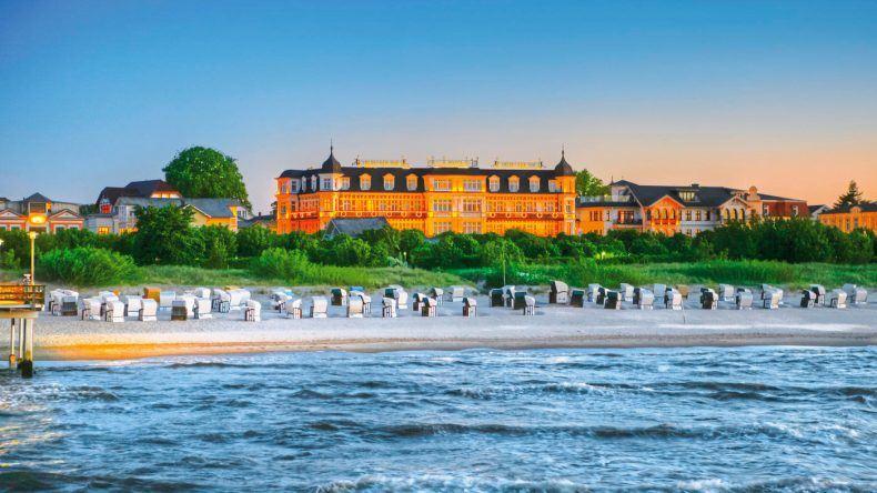 Das Seetelhotel Ahlbecker Hof direkt an der Ostsee