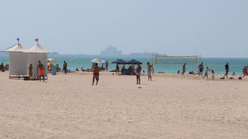 Perfekt zum Sporteln: Der Kite Beach in Dubai
