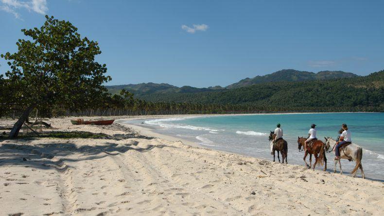 Reiten am Strand, hier an der Playa Rincon (Shutterstock/Stefano Ember)