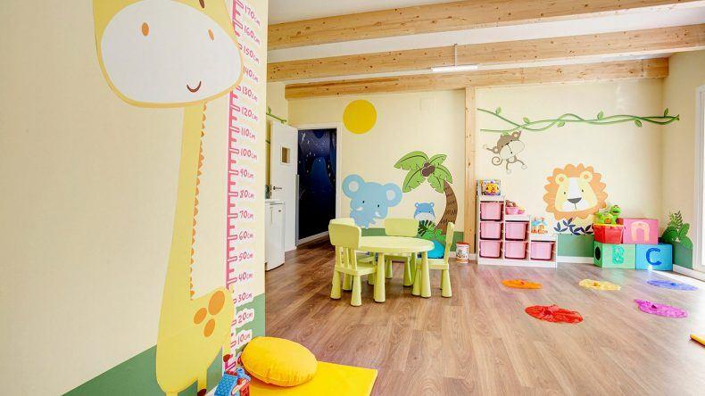 Liebevoll eingerichtetes Kinderspielzimmer im TUI FAMILY LIFE Mar de Menorca