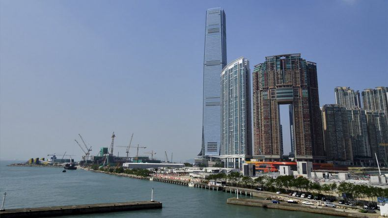 Hochhaeuser in Hongkong