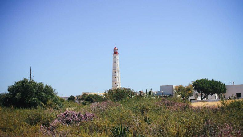 Der Leuchtturm Farol de Santa Maria kann man von der ganzen Insel aus sehen
