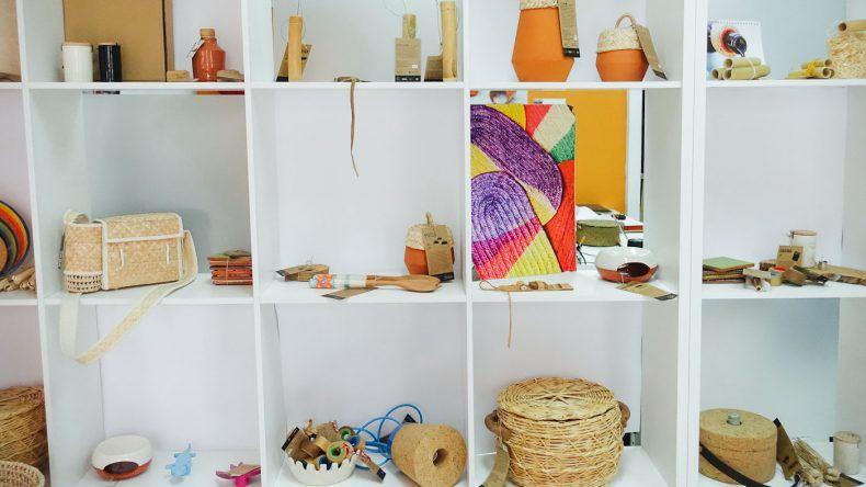 Die Produkte des Projecto TASA reichen von Krügen und Körben zu Lampen und Textilien und werden alle lokal hergestellt