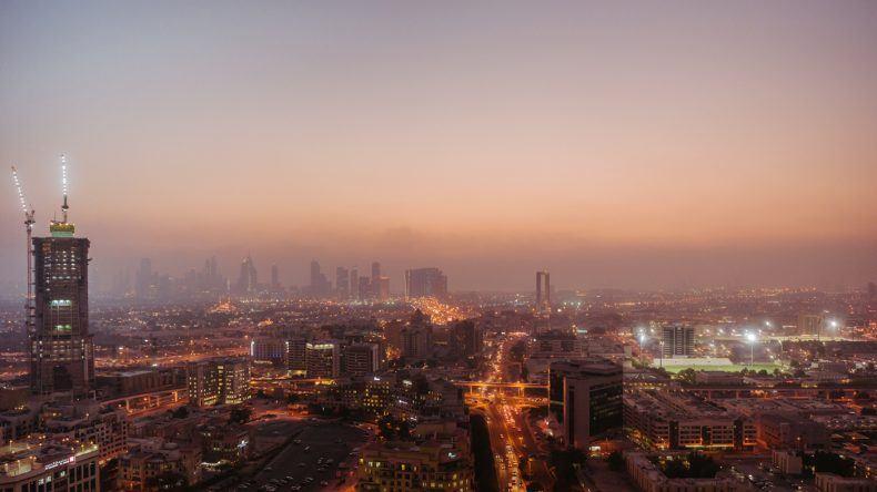 Der Besuch lohnt sich: Ausblick auf die Skyline Dubais vom Iris Dubai aus