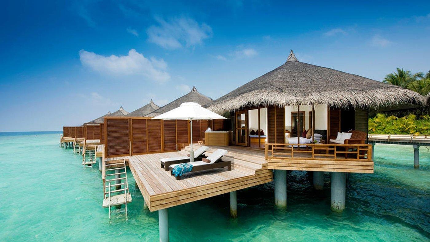 Entspannung und Luxus pur im Kuramathi Maldives