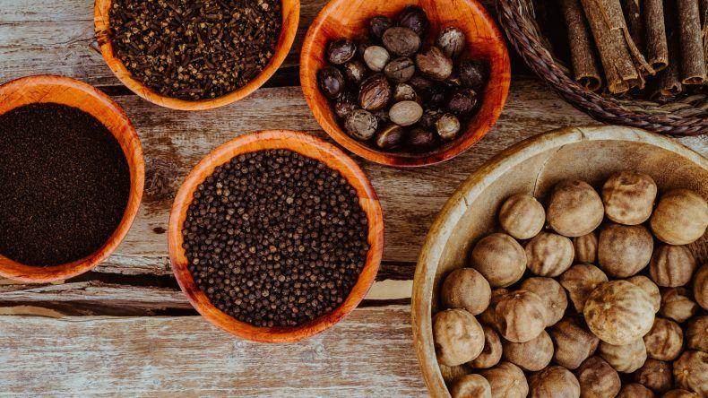 Die orientalische Küche ist ein Festival der Gewürze.