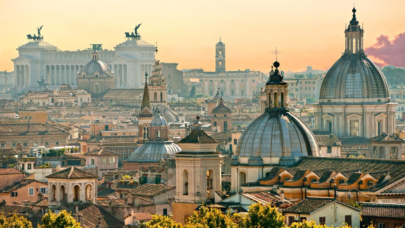 Rom ist immer ein Besuch wert - auch zu Silvester