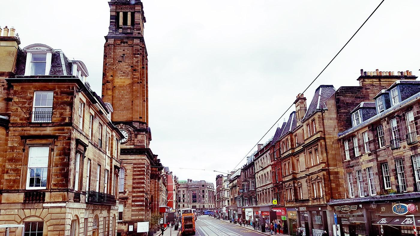 Mit Bus Edinburgh sehen