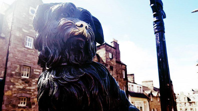 Statue von Greyfriars Bobby