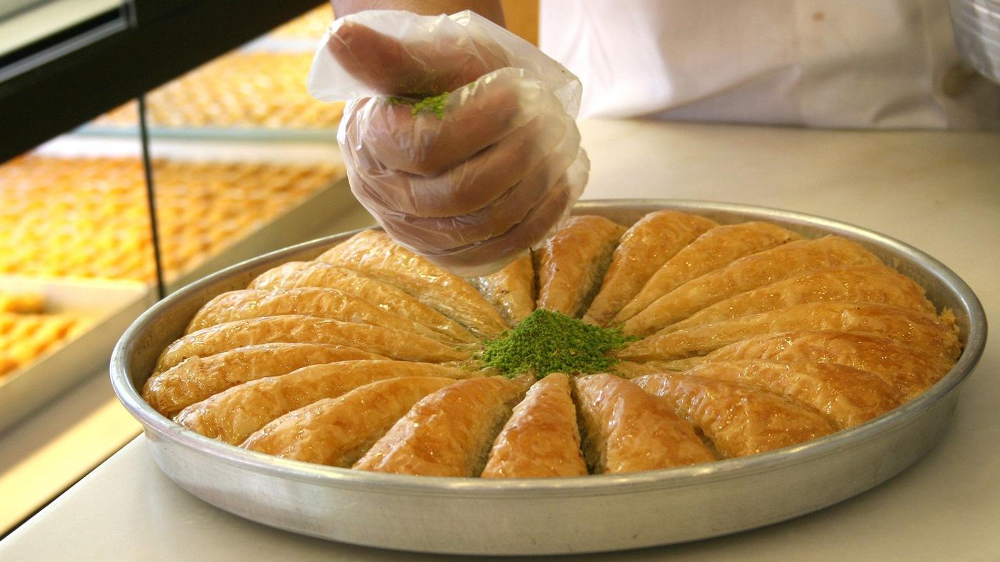 Baklava ist ein typisch türkisches Dessert