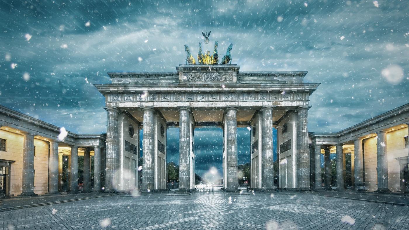 Winterliches Berlin: Immer noch einen Besuch wert