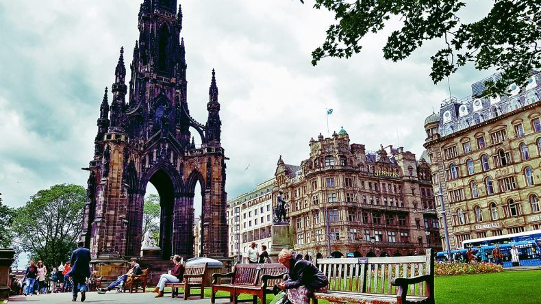 Scott Denkmal in der Princes Street
